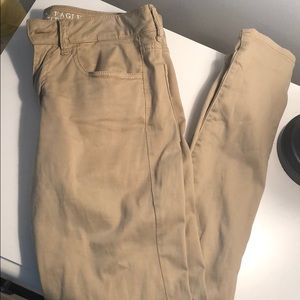 American Eagle Tan Jeans